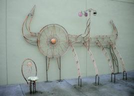 Bicycle Parking Art MEDITERRAEAN WATERS 2010