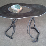 Sculptural Table-MARIPOSITE RISING -2015 Phill Evans- - H--18 W-20 D-16in
