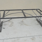Table Frame- WOOD TOP -2-2010