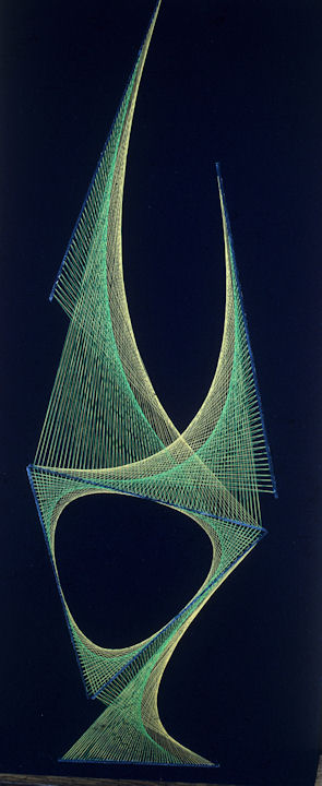 Silk Thread-1966 Green on Gold Phill Evans-Sembach, Germany